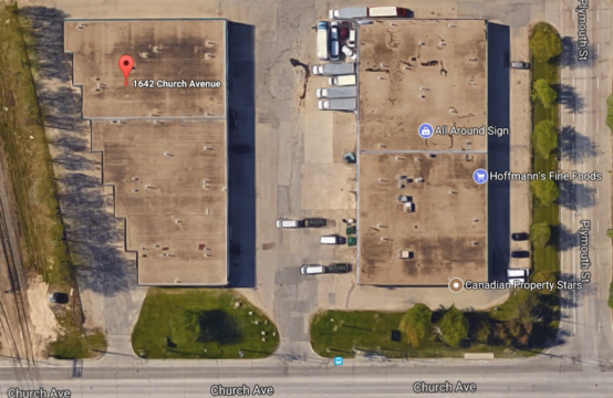 Church & Plymouth Industrial Plaza, Winnipeg